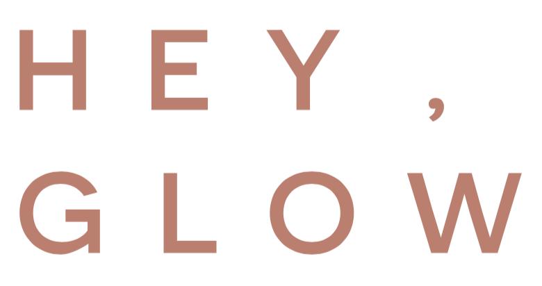 hey glow logo