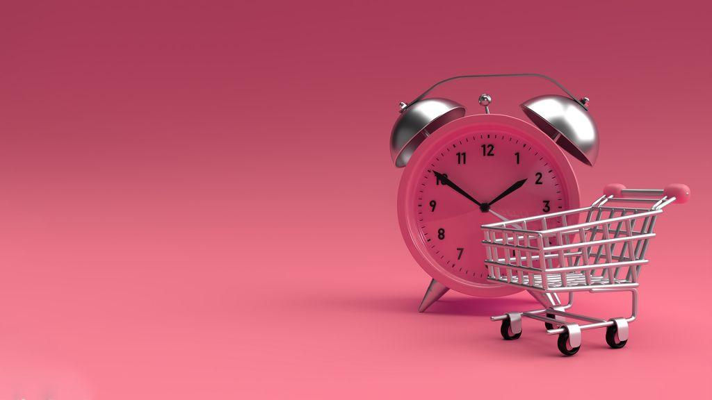 Manfaatkan waktu belanja